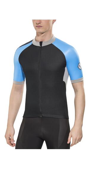 Bioracer Sprinter Cold Black Short Sleeve Jersey Men Black/Blue